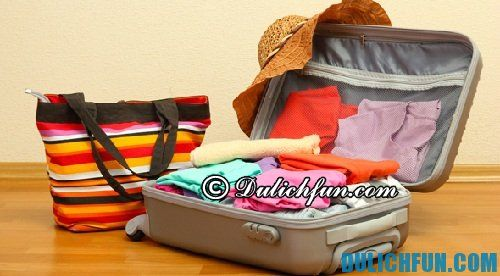 Kinh nghiệm du lịch Vũng Chùa - Đảo yến: chuẩn bị đồ dùng khi du lịch Vũng Chùa - Đảo Yến
