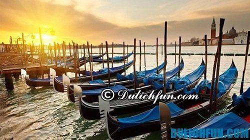 Hướng dẫn & kinh nghiệm du lịch Venice hấp dẫn, thú vị: phương tiện di chuyển ở Venice