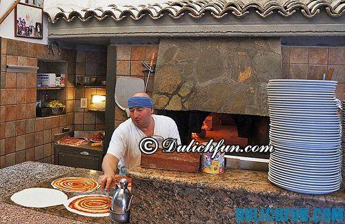 Tổng hợp những quán pizza ngon nhất ở Rome