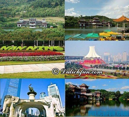 Hướng dẫn du lịch Nam Ninh cụ thể, chi tiết: Những địa điểm du lịch ở Nam Ninh đẹp, hấp dẫn