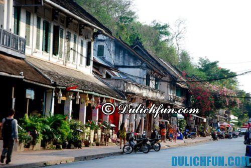 Tổng hợp những kinh nghiệm du lịch ở Luang Prabang giá rẻ, tự túc: những địa điểm du lịch hấp dẫn ở Luang Prabang