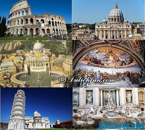 Kinh nghiệm du lịch Italia chi tiết: những địa điểm du lịch hấp dẫn ở thành phố Rome
