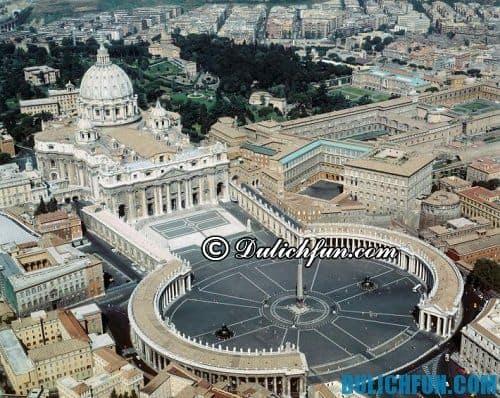 Địa điểm du lịch hấp dẫn hàng đầu ở Rome: Nhà thờ St. Peter