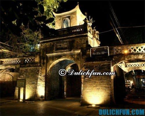 Du lịch phố cổ Hà Nội: địa điểm du lịch thú vị Ô Quan Trưởng