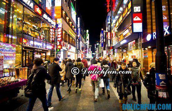 Nên mua gì, ở đâu khi du lịch Seoul, Hàn Quốc? Khám phá các địa điểm mua sắm giá rẻ, nổi tiếng ở Seoul, Hàn Quốc