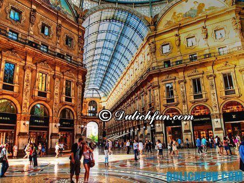 Những địa điểm mua sắm lý tưởng ở Italia: kinh đô thời trang Milan - Du lịch Italia nên đi đâu chơi, tham quan?