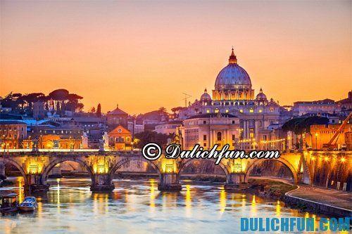 Kinh nghiệm du lịch Italia tự túc, giá rẻ, chất lượng