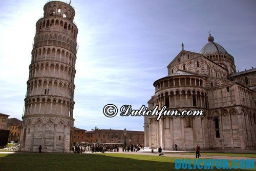Hướng dẫn du lịch tham quan tháp nghiêng Pisa chi tiết, đầy đủ