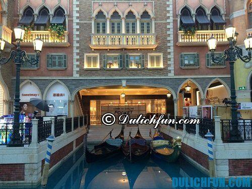 Hướng dẫn du lịch Italia chi tiết, đầy đủ: khách sạn ở Venice chất lượng