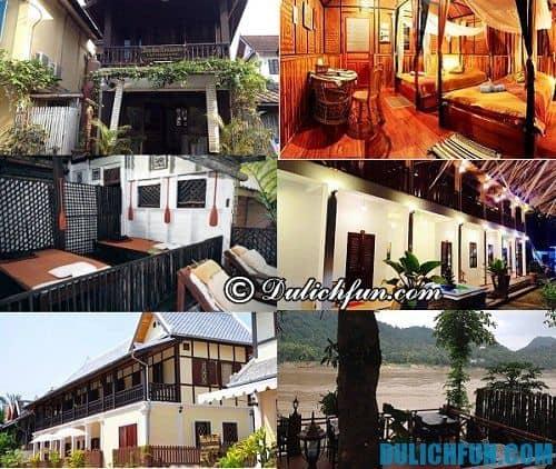 Kinh nghiệm du lịch Luang Prabang giá rẻ, hấp dẫn: khách sạn ở Luang Prabang giá rẻ, chất lượng, tiện nghi