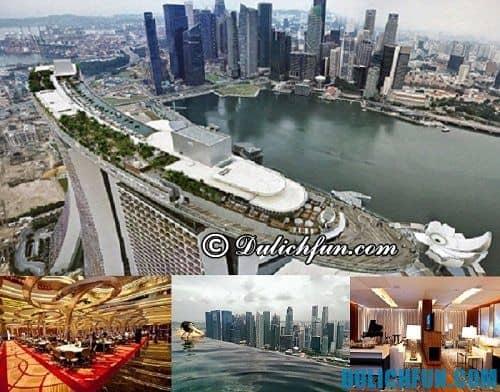 Điểm danh những khách sạn hạng sang cao cấp ở Singapore