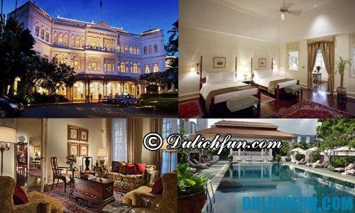 Điểm danh những khách sạn chất lượng, cao cấp ở Singapore