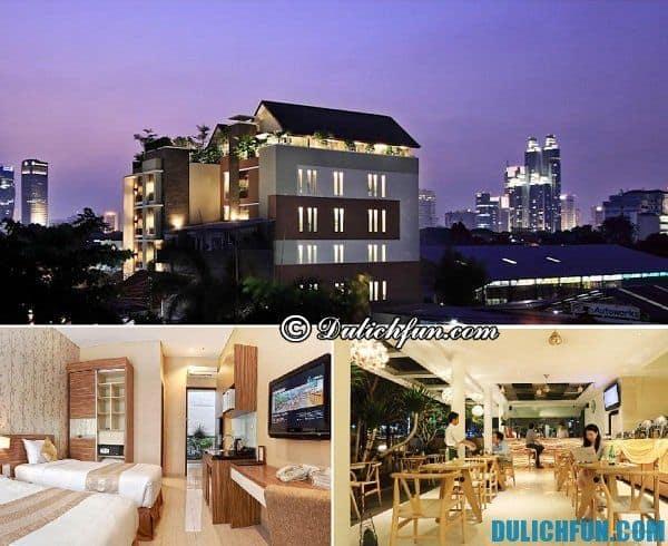 Nơi lưu trú tốt ở Jakarta. Khách sạn giá rẻ, chất lượng ở Jakarta nên thuê