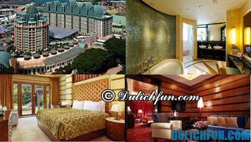 Top những khách sạn 5 sao hàng đầu nổi tiếng ở Singapore