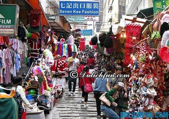 Mua gì, ở đâu khi du lịch Quảng Châu? Khu chợ bán quần áo, địa điểm mua sắm nổi tiếng ở Quảng Châu