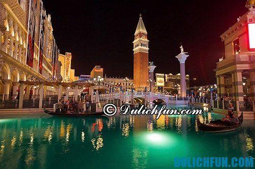 Hướng dẫn, kinh nghiệm du lịch Venice trọn gói, tự túc