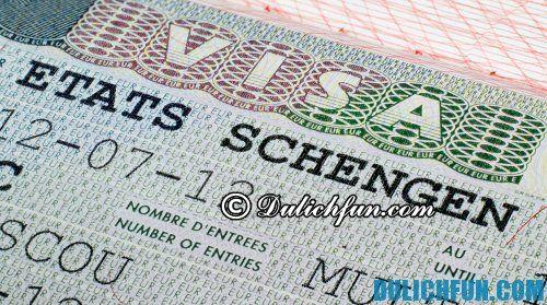 Hướng dẫn làm thủ tục thị thực Schengen nhanh chóng
