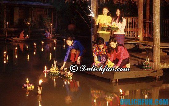 Khám phá những lễ hội truyền thống, thú vị ở Thái Lan