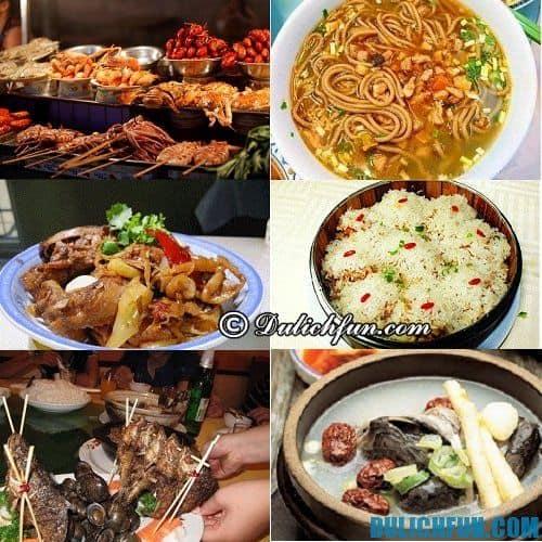 Chia sẻ kinh nghiệm du lịch bụi Nam Ninh tự túc: những món ăn ngon, hấp dẫn không thể chối từ khi du lịch Nam Ninh