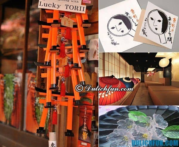 Du lịch Kyoto nên mua gì làm quà? Kinh nghiệm mua sắm ở Kyoto. Hướng dẫn du lịch Kyoto