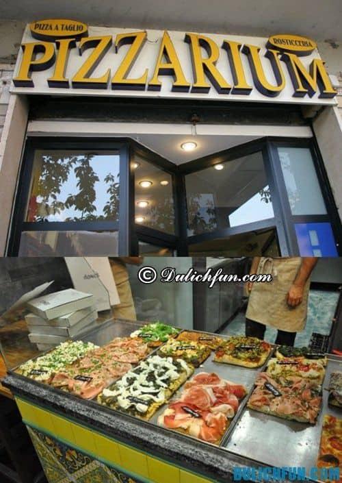 Du lịch Rome ăn pizza ở đâu ngon? Những địa chỉ ăn pizza ngon ở Rome