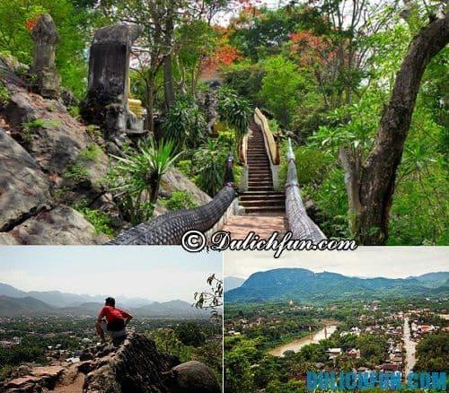 Những địa điểm du lịch hấp dẫn ở Luang Prabang: núi Phú Sỹ