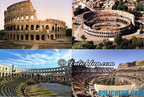 Top những địa điểm du lịch nổi tiếng thành Rome đẹp mê hồn, hút khách