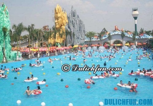 Những địa điểm vui chơi hấp dẫn ở Suối Tiên: biển Tiên Đồng - Ngọc Nữ