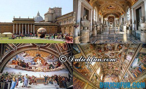 Top 7 địa điểm du lịch hấp dẫn nhất thành Rome: Bảo tàng Vatican nơi lưu giữ những kiệt tác của nhân loại