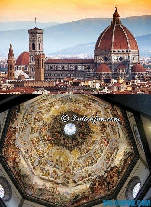 Những địa điểm du lịch hấp dẫn ở Florence: Nhà thờ Santa Maria del Florence