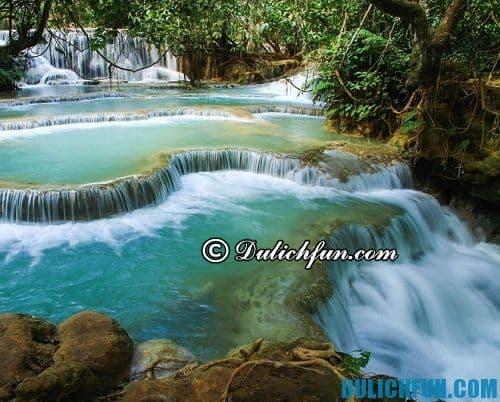 Hướng dẫn kinh nghiệm du lịch Luang Prabang: thác Kuang Si