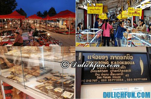 Hướng dẫn du lịch Luang Prabang tự túc, tiết kiệm: những địa chỉ mua sắm ở Luang Prabang giá rẻ, chất lượng