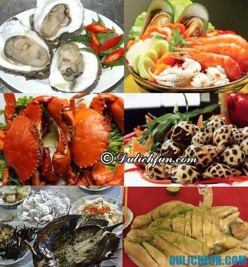Hướng dẫn kinh nghiệm du lịch ở Trà Cổ - Móng Cái: những món ăn ngon, hấp dẫn ở Trà Cổ - Móng Cái