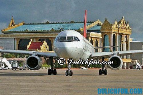 Hướng dẫn du lịch bụi Luang Prabang tự túc, giá rẻ: phương tiện di chuyển tới Luang Prabang thuận tiện nhất