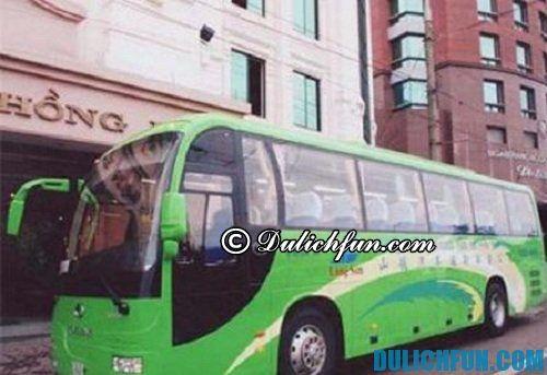 Phương tiện di chuyển tới Nam Ninh: di chuyển bằng xe bus