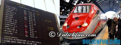 Những phương tiện di chuyển nhanh, thuận lợi ở Rome: taxi, metro, xe bus