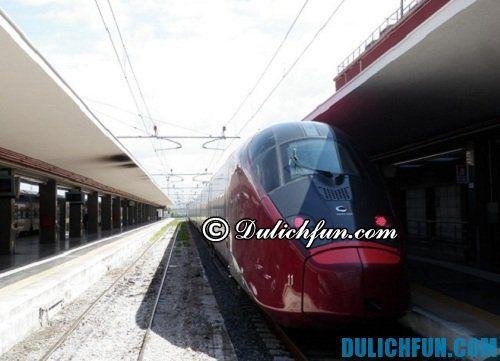 Kinh nghiệm du lịch Florence tự túc, giá rẻ: di chuyển bằng tàu tới Florence