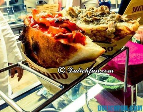 Tổng hợp địa chỉ ăn pizza ngon nhất ở Rome