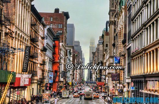 Soho, những địa điểm mua sắm đẹp, nổi tiếng chất lượng ở New York
