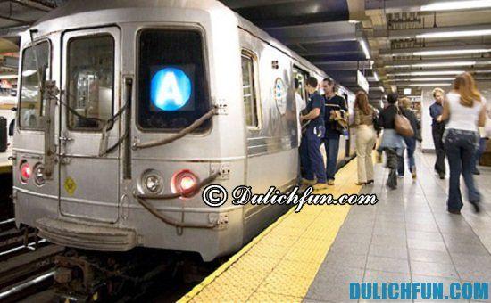 Tàu điện ngầm, phương tiện di chuyển ở New York