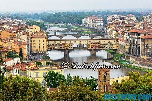Hướng dẫn du lịch Florence chi tiết đầy đủ: thời điểm đẹp để du lịch Florence