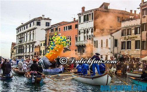 Kinh nghiệm du lịch Venice: du lịch Venice mùa nào, tháng mấy đẹp, lý tưởng nhất?