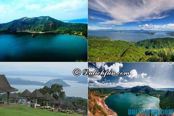 Du lịch núi lửa Taal ở Tagaytay, Philippines trong 1 ngày: Kinh nghiệm, lộ trình, giá vé, đi lại...