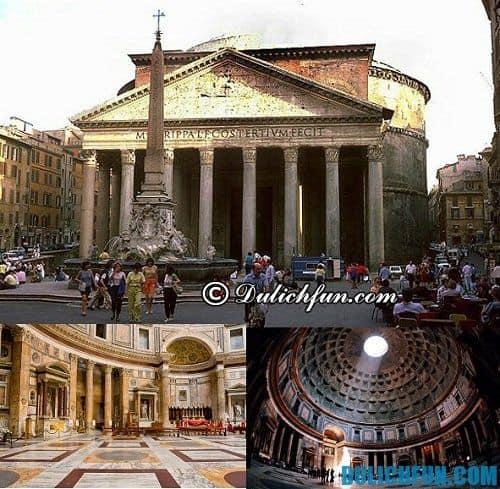 Du lịch Rome nên tham quan ở đâu? Đến Pantheon địa điểm du lịch nổi tiếng thành Rome