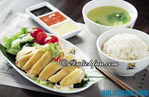 Điểm danh những món ăn ở Singapore ngon không thể chối từ