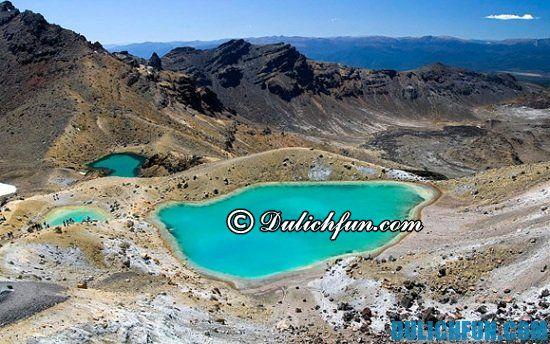 Khám phá các địa điểm tham quan, du lịch nổi tiếng ở New Zealand. Vườn quốc gia Tongariro, điểm tham quan hấp dẫn ở New Zealand