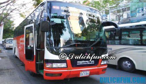 Kinh nghiệm du lịch Luang Prabang: Phương tiện di chuyển tới Luang Prabang
