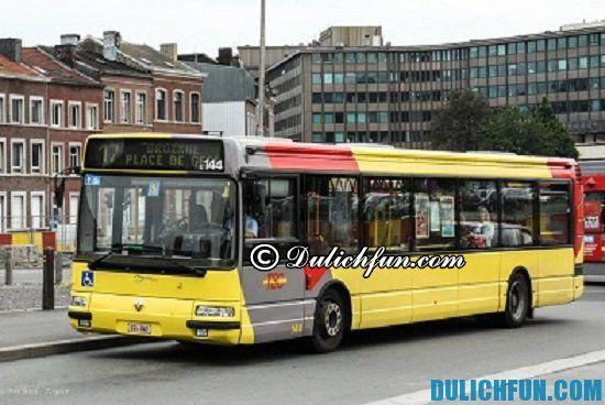 Phương tiện di chuyển ở Bỉ? Kinh nghiệm du lịch Bỉ tự túc, giá rẻ
