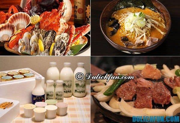 Kinh nghiệm du lịch Hokkaido: Tới Hokkaido nên ăn gì? Những món ăn ngon, đặc sản ở Hokkaido