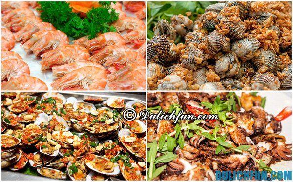 Ăn uống ở Bãi Lữ.Địa chỉ ăn uống ngon rẻ ở Bãi Lữ. Kinh nghiệm du lịch Bãi Lữ. Tới Bãi Lữ nên ăn gì?